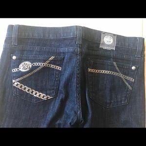 Rock & Republic boot cut dark denim jeans